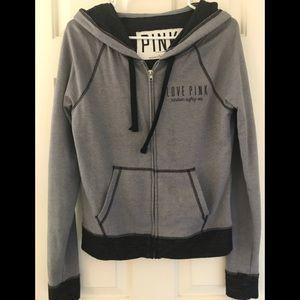 VIctoria's Secret PINK Zip Up Hoodie Jacket